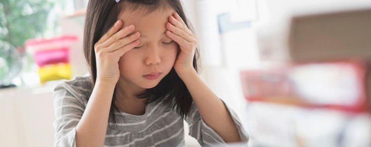 Imagen Test estrés en niños