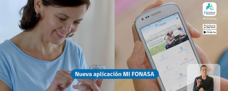 Imagen nueva app de Fonasa