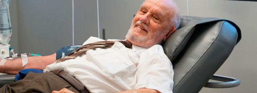 James Harrison, el hombre que gracias a su sangre salvó a millones de bebés